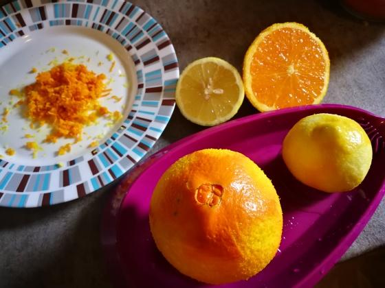 Rendane kore limuna i narandže
