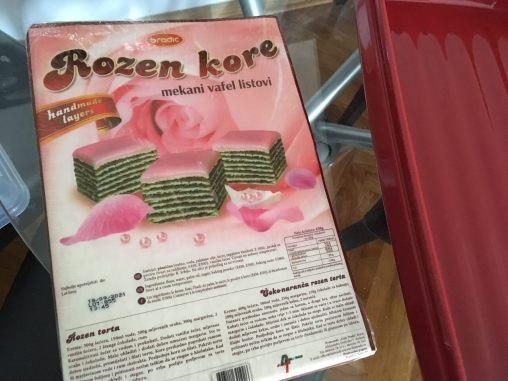 Paket korica za rozen tortu