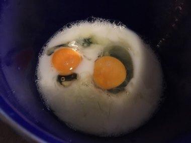 Jaja, pirinčano mleko, voda
