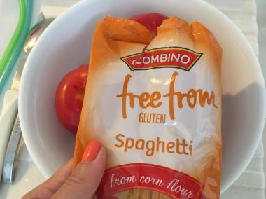 Moje bezglutenske špagete